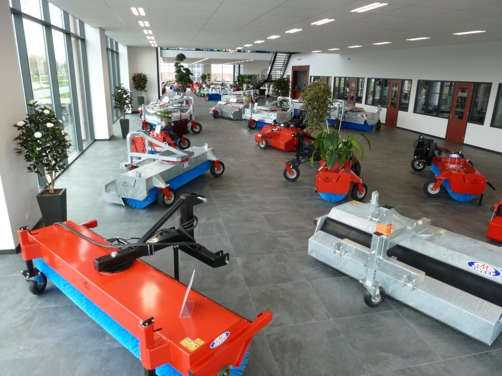 showroom veegmachines